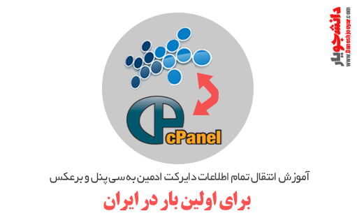 آموزش انتقال تمام اطلاعات دایرکت ادمین به سی پنل و برعکس برای اولین بار در ایران