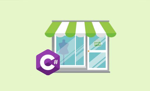مجموعه ی آموزشی #C در قالب پروژه ی فروشگاه لباس