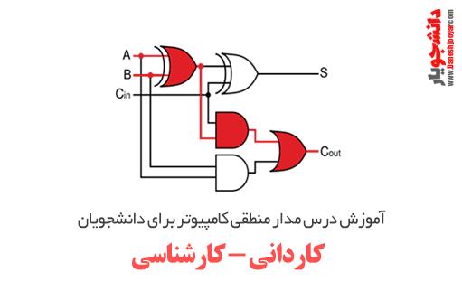 دوره کامل آموزش درس مدار منطقی کامپیوتر