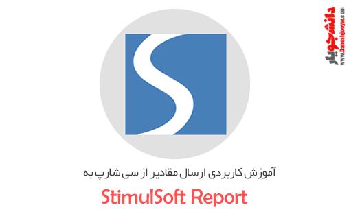 آموزش کاربردی ارسال مقادیر از سی شارپ به Stimul Report