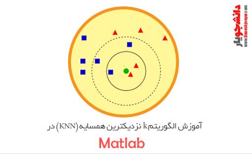 دانلود فیلم الگوریتم k نزدیکترین همسایه (KNN) در متلب + کد متلب