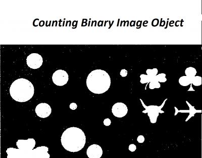 دانلود پروژه شمارش تعداد اشیاء (Objects) یک تصویر باینری در متلب