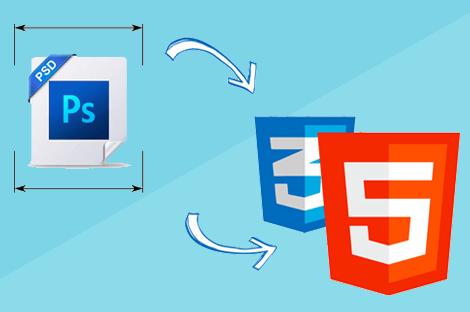 آموزش تبدیل فایل PSD به HTML به صورت کاملاً Responsive – پروژه محور