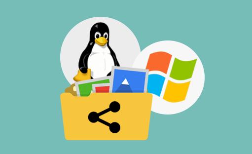 آموزش نحوه اشتراک فایل بین ویندوز و لینوکس
