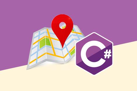 آموزش کار با نقشه گوگل در سی شارپ – پروژه محور