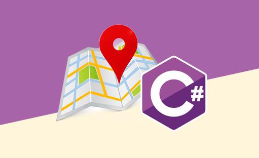 کار با نقشه گوگل , زبان سی شارپ , تکنولوژی LINQ , کامپوننت DevComponent DotNetBar2