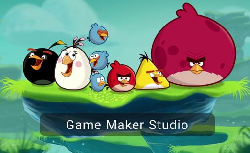 دوره آموزش طراحی بازی Angry birds  با استفاده از game maker studio بخش دوم- پایان