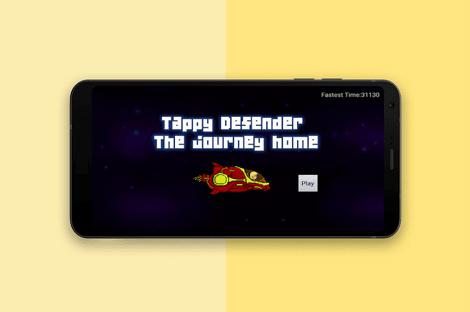 آموزش ساخت بازی در اندروید استودیو – بازی Tappy Defender