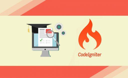 دوره آموزش ساخت سیستم آزمون آنلاین با فریم ورک CodeIgniter