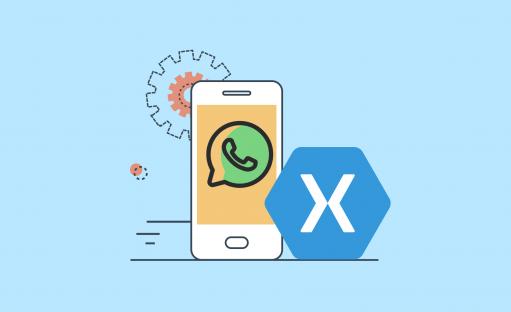 آموزش طراحی رابط کاربری whats app در Xamarin Forms