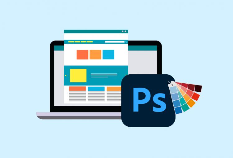 آموزش طراحی قالب سایت با فتوشاپ